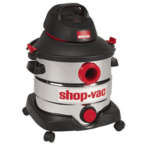 Shop-Vac 8 gallon 6.0 Peak HP Stainless Wet Dry Vacuum Only $58.31 (Was $79.99)