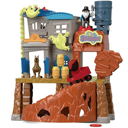 Fisher-Price Imaginext Scooby-Doo Haunted Ghost Town Only $33.97