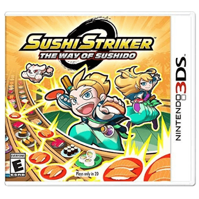 Sushi Striker: The Way of The Sushido - Nintendo 3DS Only $18.04 (Was $39.99)