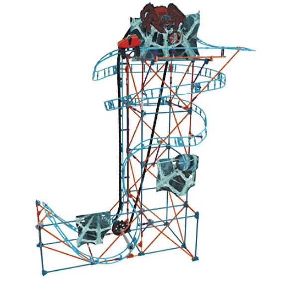 K'NEX Cobweb Curse Roller Coaster Building Set – 473Piece $29.99 (Was $44.99)