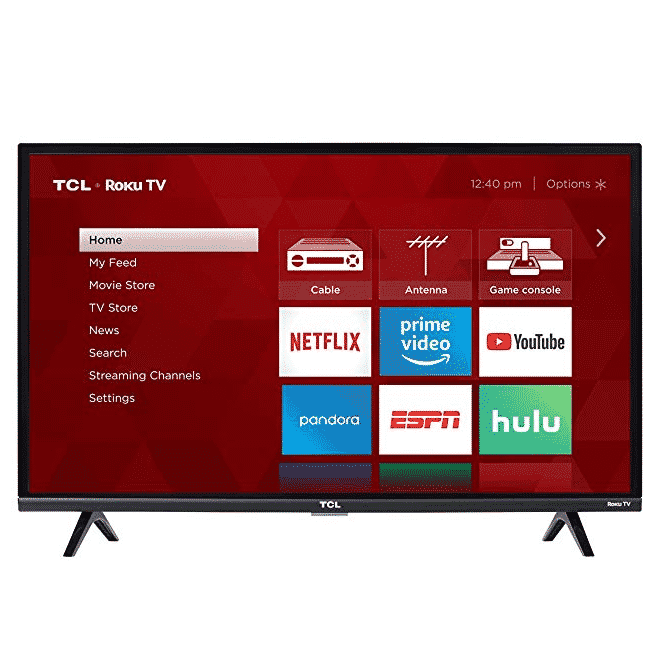 TCL 32S327 32-Inch 1080p Roku Smart LED TV Only $149.99 (Was $189.99)