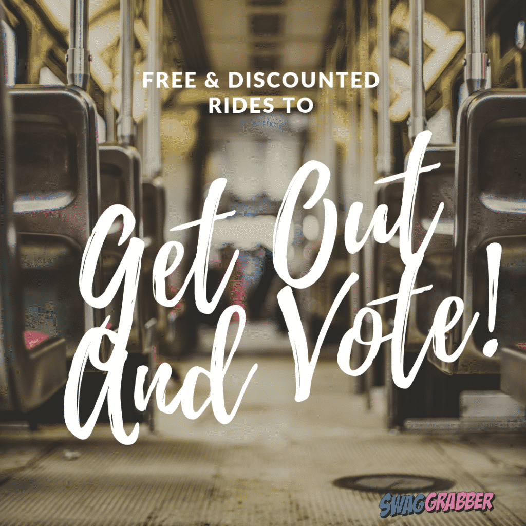 Free & Discounted Rides to Vote