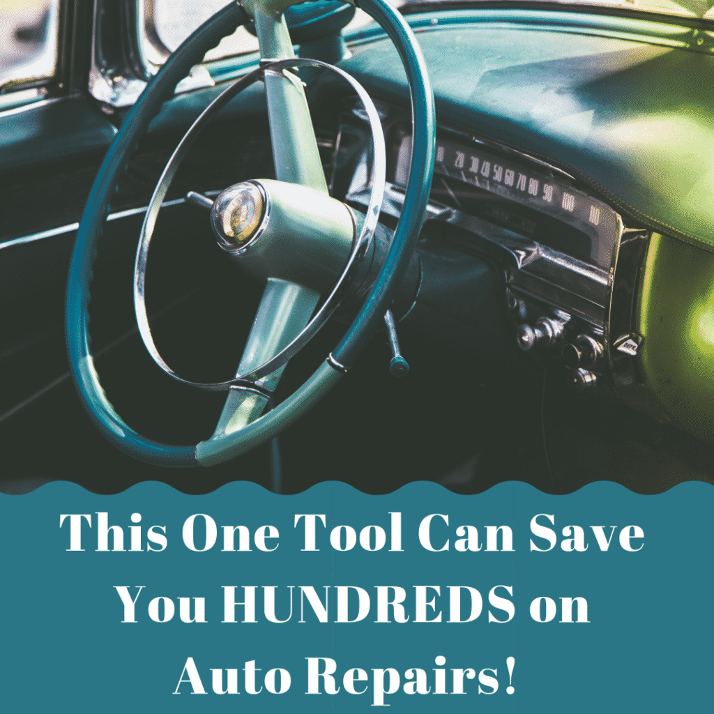 One Tool Can Save You Hundreds on Auto Repairs