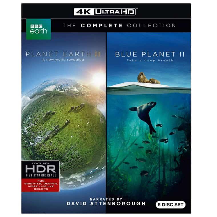Planet Earth II/ Blue Planet II (4KUHD) Blu-ray Now .99 (Was .99)