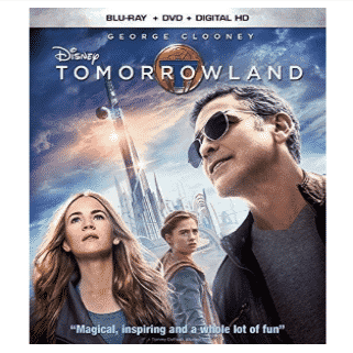 Tomorrowland Blu-ray Only $6.24