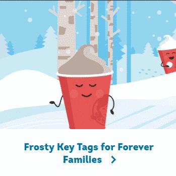 Wendy's Frosty Key Tag Promotion: Buy $2 Key Tag Get Free Frosty's Every Day!