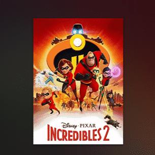 Incredibles 2 HD Digital Rental Only $2.99