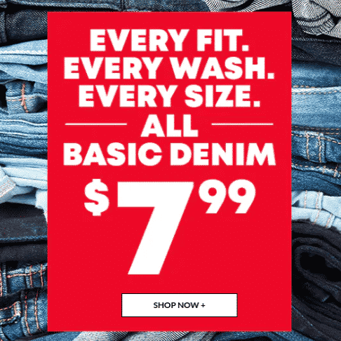 The Children's Place: Up to 75% off Site Wide - Kids Jeans Only $7.99
