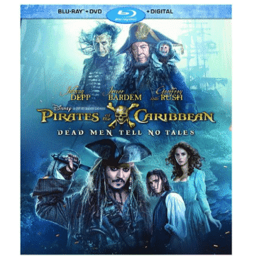 Pirates Of The Caribbean: Dead Men Tell No Tales Blu-ray Only $6.99