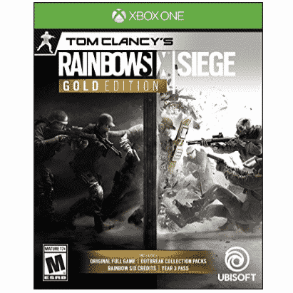 Rainbow Six Siege Year 3 Gold Edition - Xbox One Only $27.00 (Was $89.99)