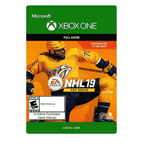 NHL 19: Standard Edition - Xbox One Only $30.00 (Was $59.99)