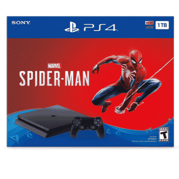 PlayStation 4 Slim 1TB Console - Marvel's Spider-Man Bundle Only $199.00 *HOT*