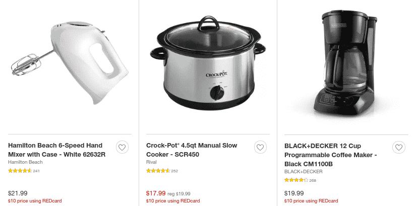 Target Black Friday Deal - $10 Appliances!!!