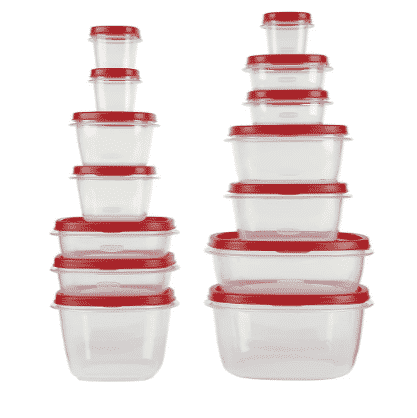 Target BF Deal: Rubbermaid 28pc Easy Find Lids Food Storage Set ONLY $7.99