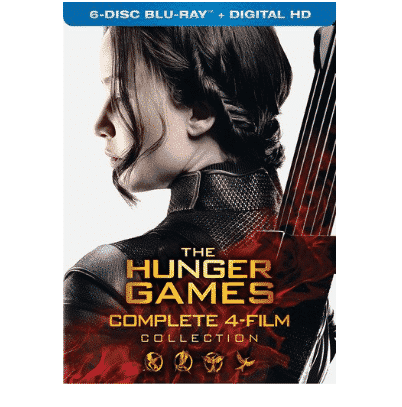The Hunger Games: Complete 4 Film Collection Only $17.96 (Was $64.97)