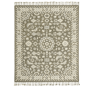 Stone & Beam Barnstead Floral Wool Area Rug, 5' x 8', Only $129.35 (Was $199.00)