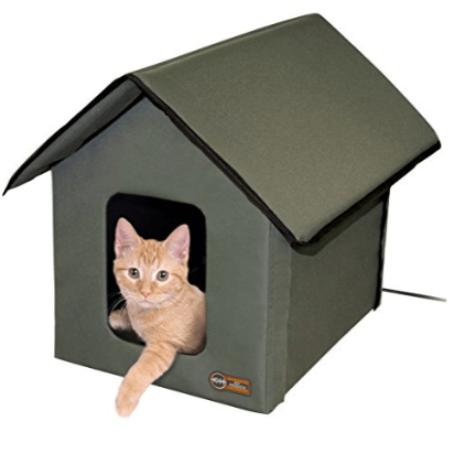 K&H Pet Products Outdoor Heated Kitty House Only $27.99 (Was $100)