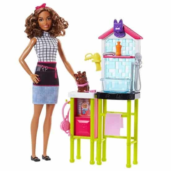 Barbie Pet Groomer Doll Only $10.40 (Was $19.99)
