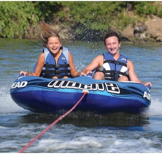 Airhead Mach 2 Two-Person Towable Tube Only $24.25 Shipped