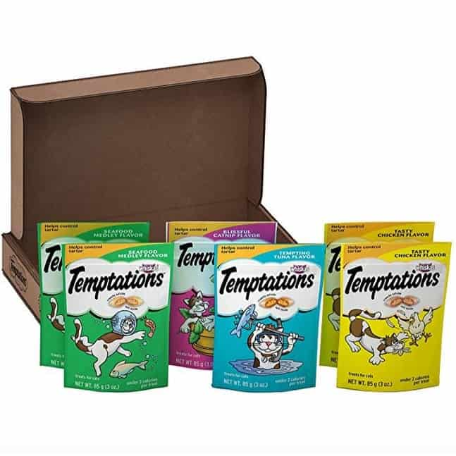 Up to 60% Off Feline Favorite Supplies and Treats ~ Temptations Cat Treats 6-Pack Only $4.78 **Today Only**