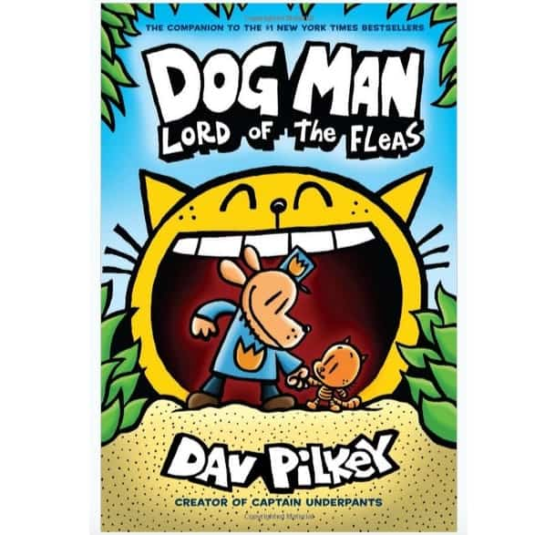 Dog Man: Lord of the Fleas ONLY $4.27 + Save $5 off Any $20 Book Purchase