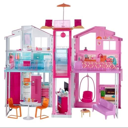 Barbie Pink Passport 3 Story Townhouse Only $49.99 (Was $99.99)