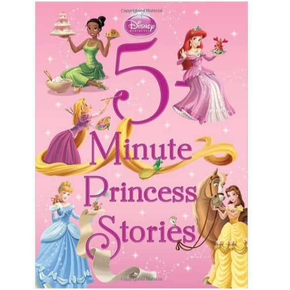5-Minute Princess Stories Only $5 ~ Plus Save $5 Off $20 Book Orders