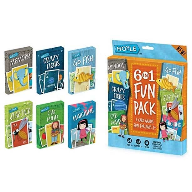 Hoyle Kid's 6 in 1 Fun Pack Card Games Only $5.97