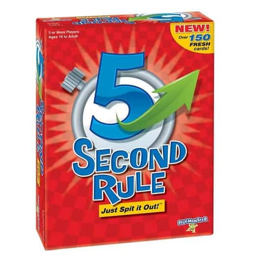 5 Second Rule Game Only $10.79 (Was $19.99)