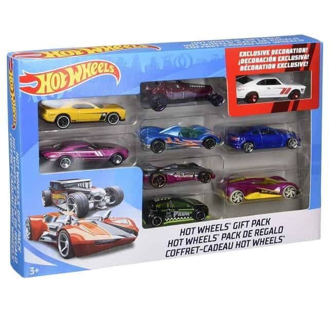 Hot Wheels 9-Car Gift Pack Only $7.99