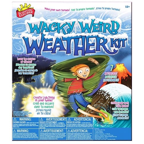 Scientific Explorer Wacky Weird Weather Kit Only .44