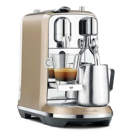 Breville Nespresso Creatista Espresso Machine with Milk Auto Steam Wand 6.95 **Today Only**