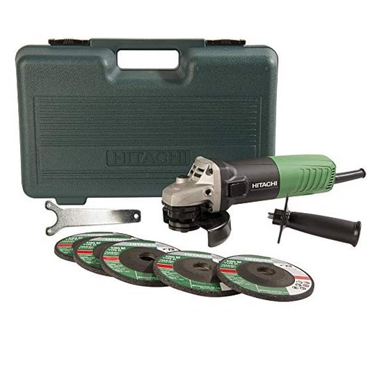 Hitachi 6.2-Amp 4-1/2-Inch Angle Grinder Only $29.97 (Was $49.97)