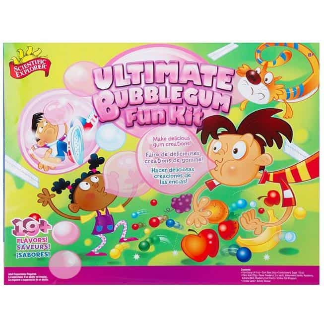 Scientific Explorer Ultimate Bubble Gum Fun Kit Only $18.69 (Was $40.00)