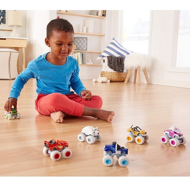 Fisher-Price Nickelodeon Blaze & the Monster Machines, Polar Pals (6 Pack) Only $19
