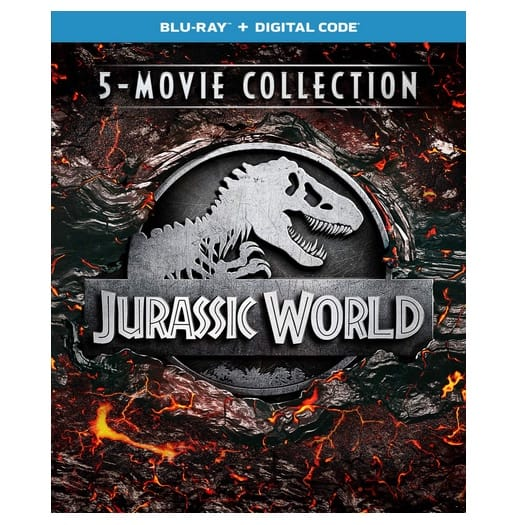 Jurassic World 5-Movie Collection [Blu-ray] Now .99 (Was .98)