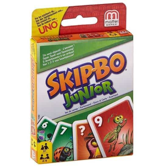 Mattel Games Skip-Bo Junior Card Game Only $3.76