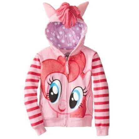 My Little Pony Little Girls' Pinky Pie Hoodie Only $10.99 (Was $30.00)