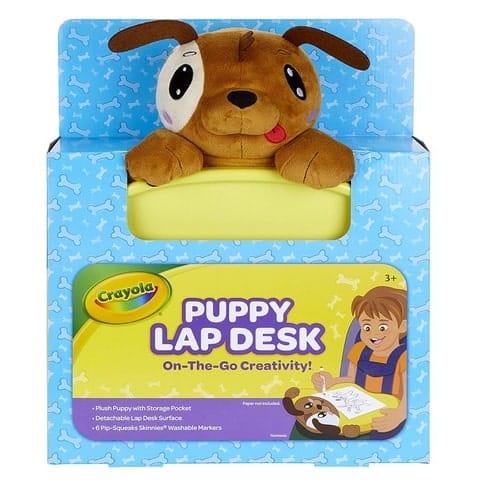 Dog Plush Travel Lap Desk with Storage Only $15.27