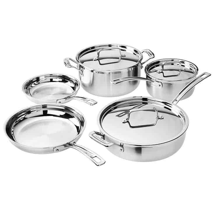 Cuisinart 8-Piece Multiclad Cookware Set $129.99 **Today Only**