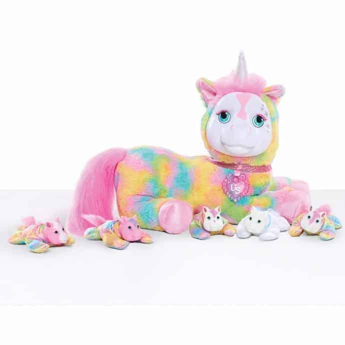 "Unicorn Surprise 12"" Plush Crystal Only $16.24"