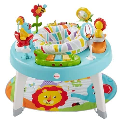 Fisher-Price 3-in-1 Sit-to-Stand Activity Center Jazzy Jungle $64.62