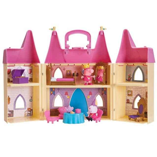 Peppa Pig's Princess Castle Deluxe Playset Only $16.54 (Was $34.99)