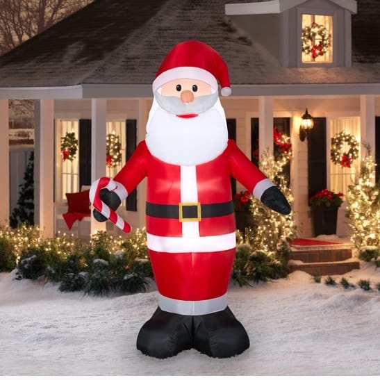 Airblown Inflatables 9 Ft. Jumbo Santa Inflatable Only $29