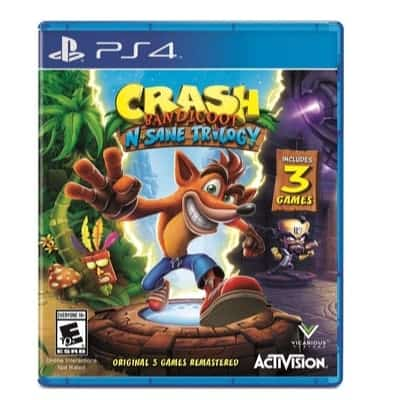 Crash Bandicoot N. Sane Trilogy Only $24.99 (Was $39.99)
