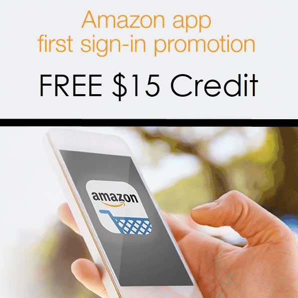 Amazon Prime Members Can Get A $15 Account Credit For Using The Amazon App