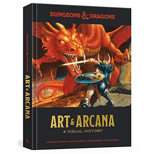 Dungeons and Dragons Art and Arcana: A Visual History Only $17.92 (Was $50)