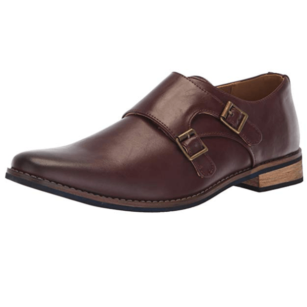 Deer Stags Men's Cyprus Dress Comfort Monk Strap Only .43 (Was .77)