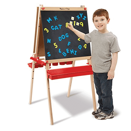 Melissa & Doug Deluxe Magnetic Standing Art Easel With Chalkboard Only $67.99 **EXPIRED**