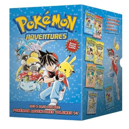 Pokémon Adventures 7 Volume Set Only $21.32 (Was $54.99)